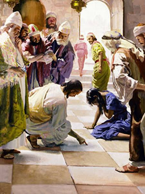 Jesus confronted cultural attitudes toward impure women.